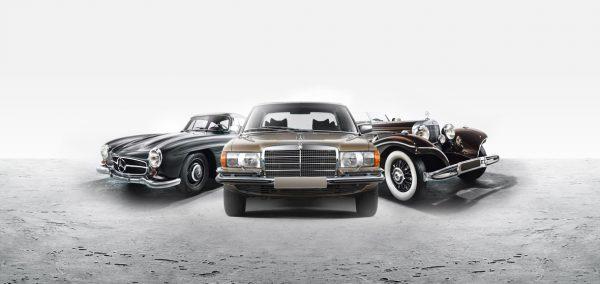 Klassiker mit Stern direkt vom Mercedes-Benz Museum