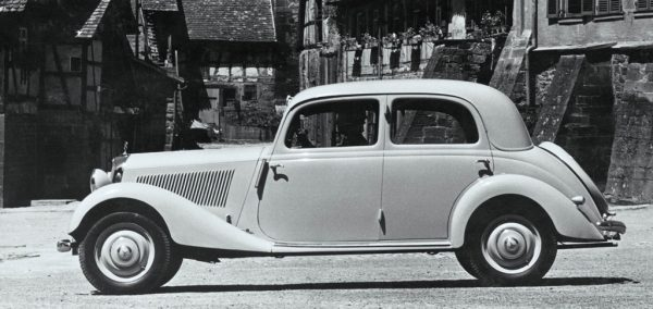Der Mercedes-Benz 170 V von 1936
