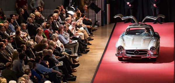 Bonhams Auktion im Mercedes-Benz Museum