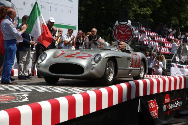 Mercedes-Benz ist Sponsor bei der Mille Miglia 2016