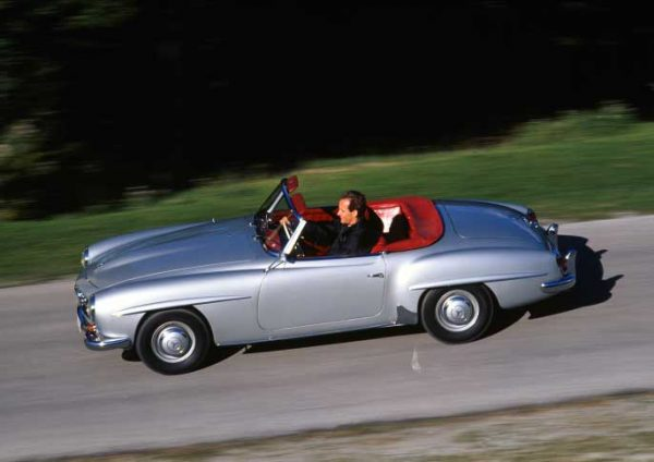 The Mercedes-Benz 190 SL
