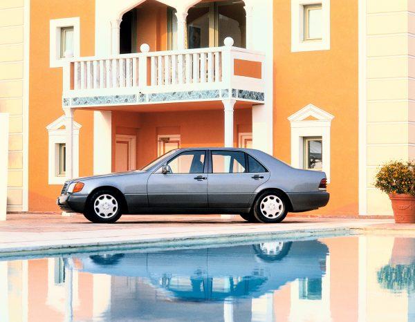 Luxus und Technologie: Mercedes-Benz S-Klasse W 140