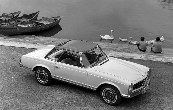 The Mercedes-Benz 230 SL Pagoda