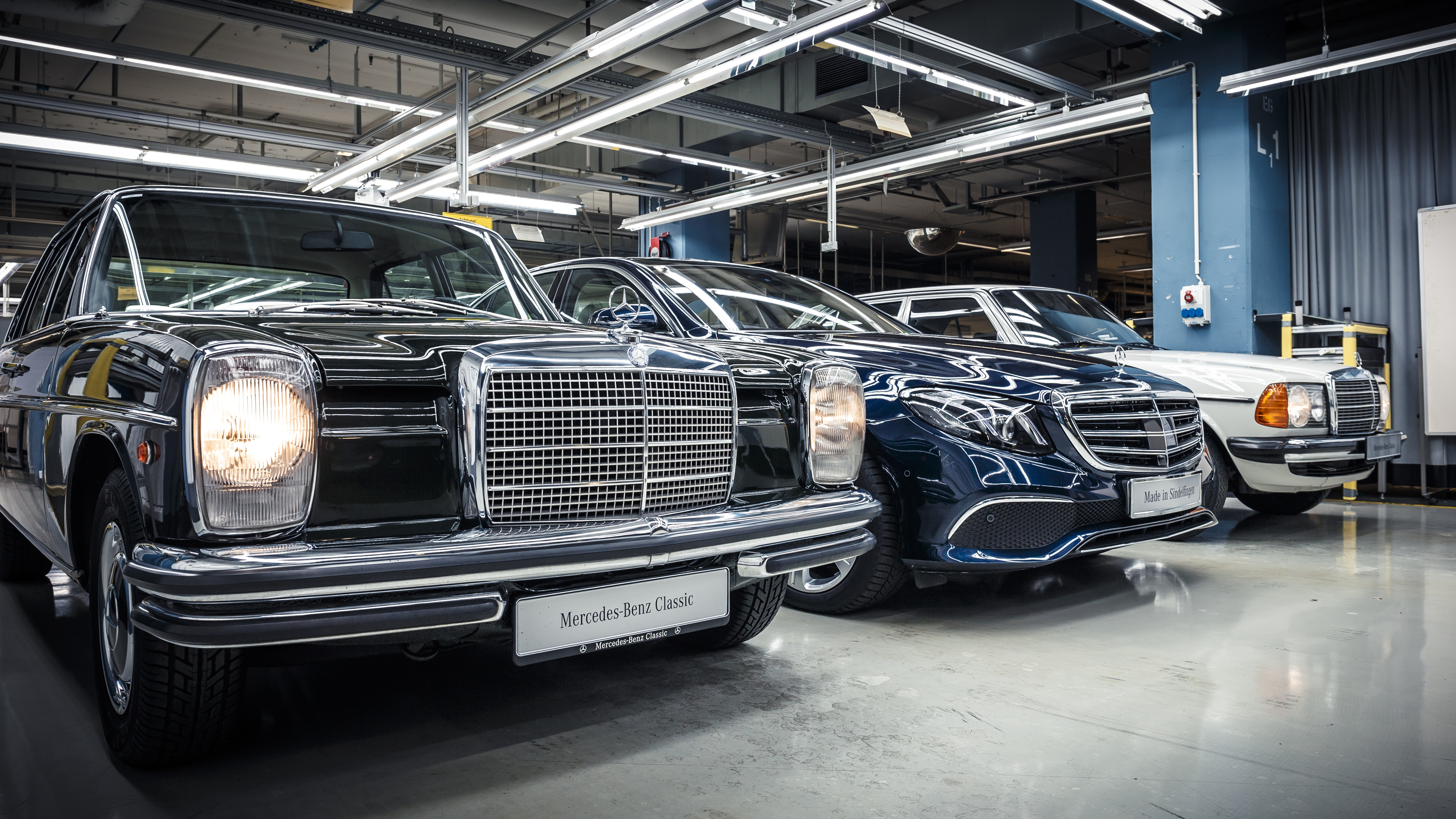 all time stars first new e class rolls off the production