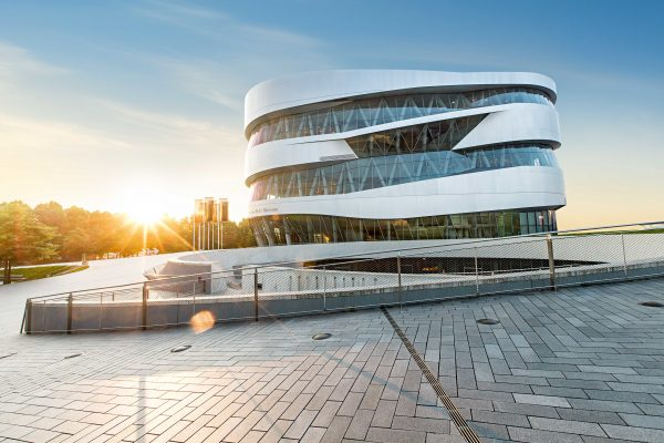 Birthday weekend at the Mercedes-Benz Museum