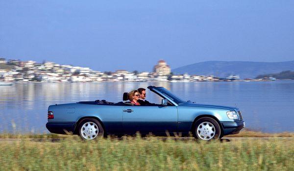 Offene Fahrkultur: 25 Jahre E-Klasse Cabriolet