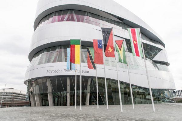 Einladung ins Mercedes-Benz Museum