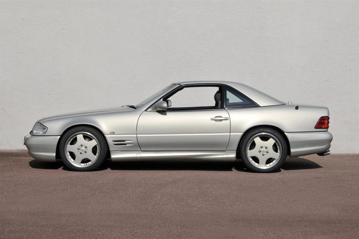 Mercedes-Benz R 129 SL 55 AMG Mille Miglia 1999 2