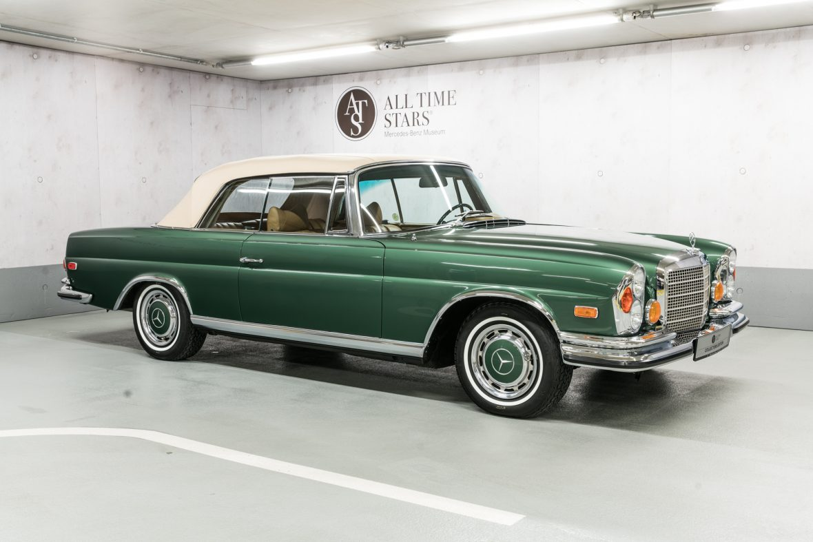 All time stars mercedes benz 280 se 3 5 cabriolet w 111 for Mercedes benz classic cars