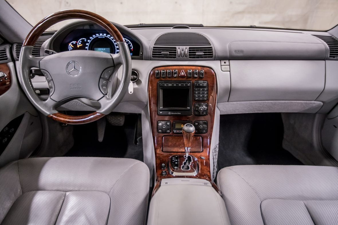 Mercedes-Benz C 215 CL 55 AMG 11