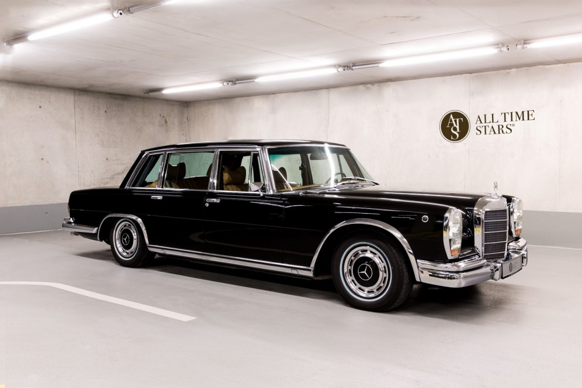 All time stars mercedes benz 600 w 100 for Mercedes benz retro