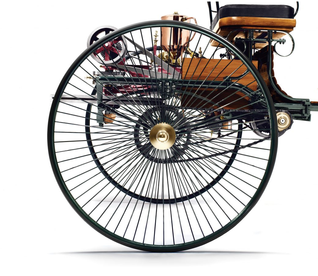 Benz Patent-Motorwagen (Nachbau) 2
