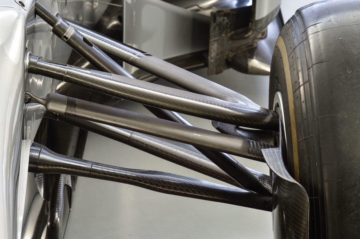 MERCEDES AMG PETRONAS F1 W04 (ex Hamilton), 2013