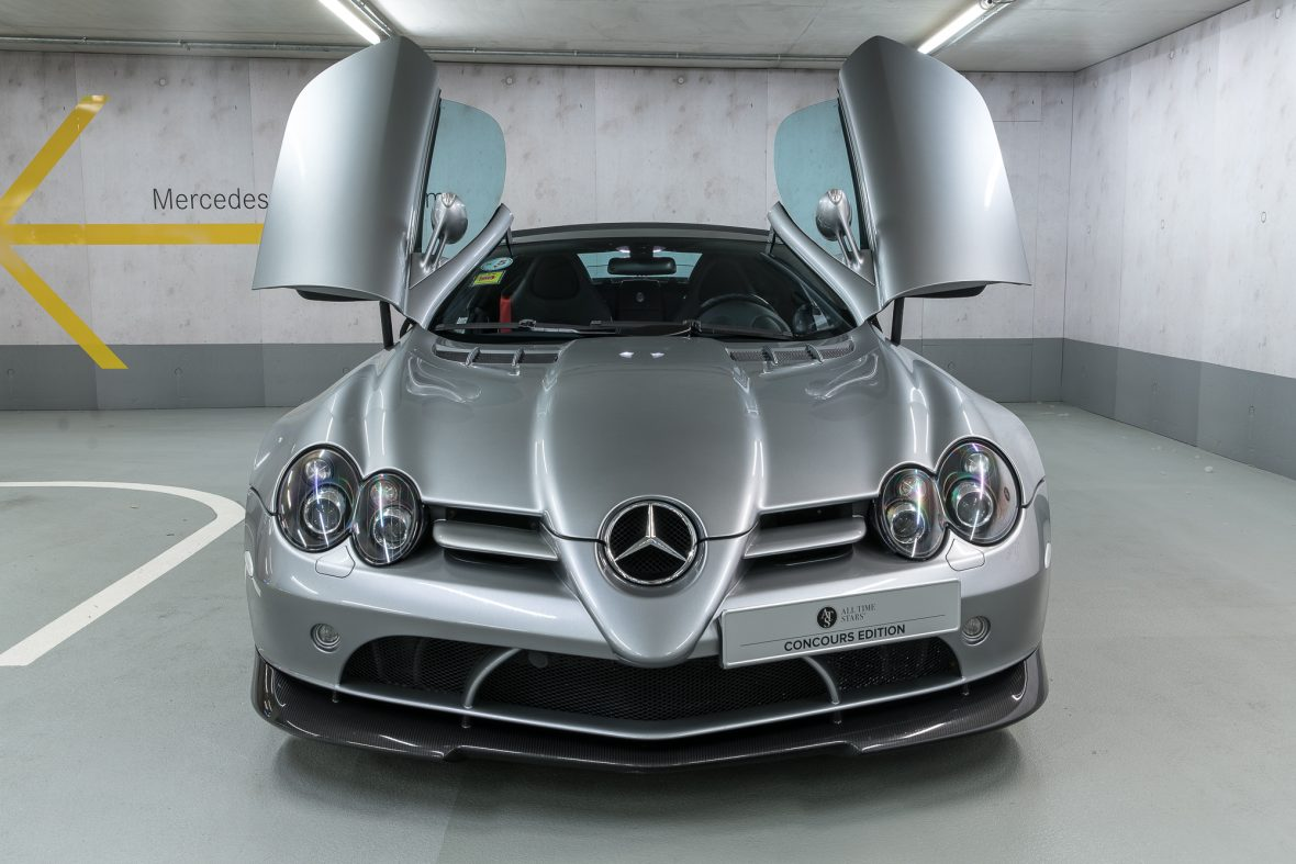 Mercedes benz slr mclaren 722 s roadster r 199 for Mercedes benz slr