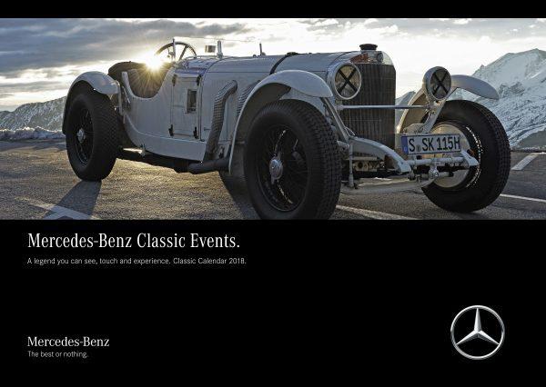 Mercedes-Benz Classic Kalender 2018