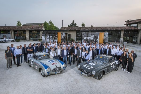 Mercedes-Benz ist Automotive Sponsor der Mille Miglia 2018